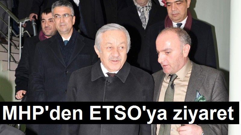 Adan'dan ETSO'ya ziyaret