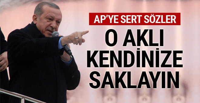 """Erdoğan: """"Sen Artık Dönsen Bile Seni Dadaşlar Sokmaz Buraya"""""""