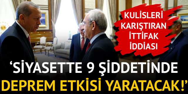 Ankara'yı hareketlendiren ittifak iddiası