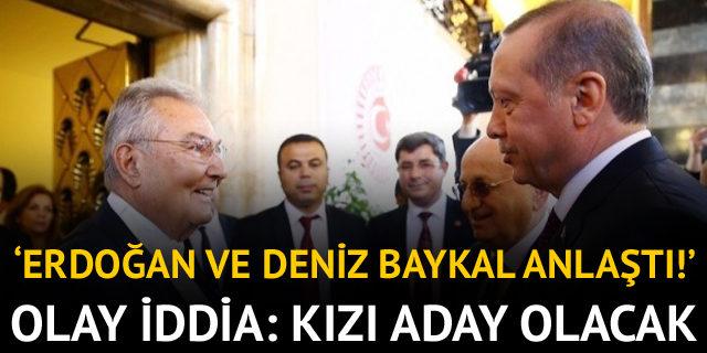 Baykal ve Cumhurbaşkanı Erdoğan anlaştı!