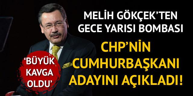 Gökçek'ten gece yarısı bombası! CHP'nin cumhurbaşkanı adayını açıkladı