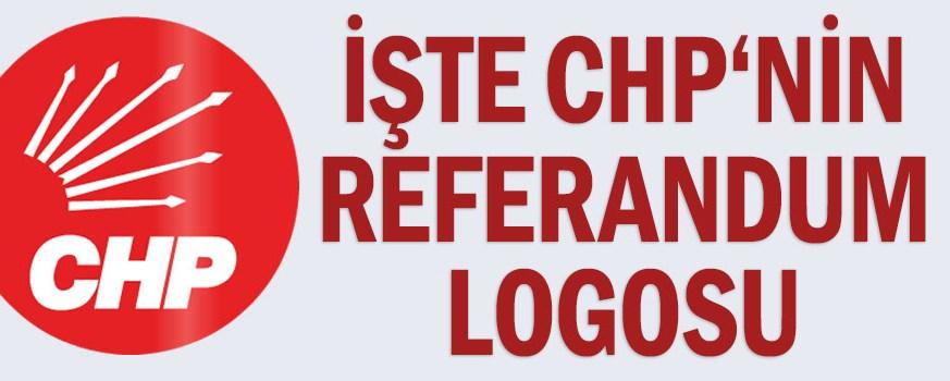 İşte CHP'nin referandum logosu