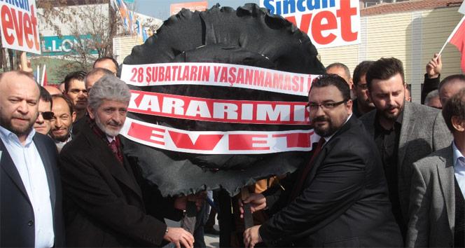 Ankara'da '28 Şubat' protestosu