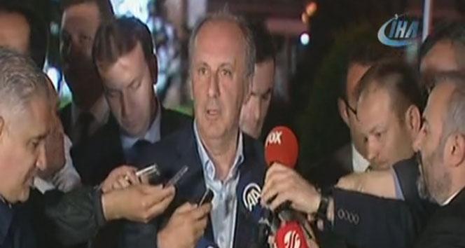 Muharrem İnce: 'Sayın Genel Başkanı ve AK Parti'ye, partisine başarılar diledik, sohbet ettik, dertleştik'