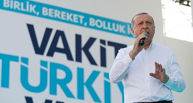Erdoğan'dan müjde üstüne müjde!