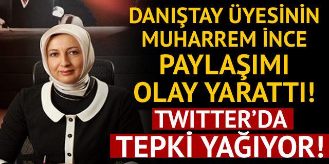 Danıştay üyesi Aysel Demirel'den Muharrem İnce ile ilgili siyasi tweet