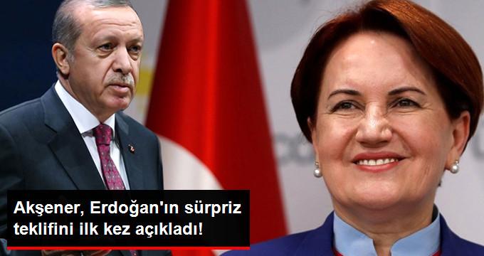 """Meral Akşener: Erdoğan Bana """"Güçlü Başbakan Yardımcılığı"""" Teklif Etti"""