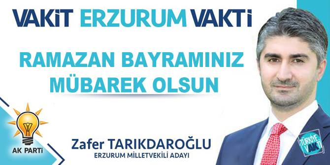 İyi bayramlar Erzurum