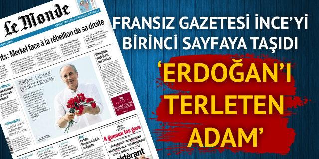 Fransız gazetesinin birinci sayfasında bir Türk