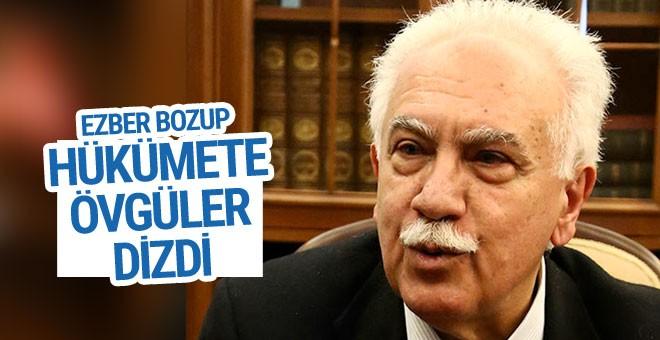 Perinçek'ten TSK ve hükümete ezber bozan övgüler