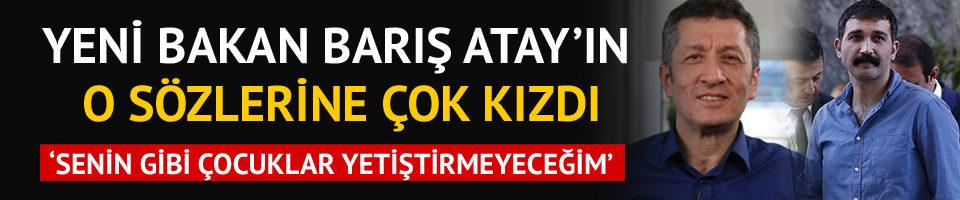Milli Eğitim Bakanı Ziya Selçuk'tan Barış Atay'a sert yanıt!