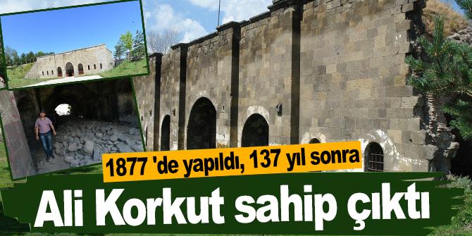 1877 'de yapıldı, 137 yıl sonra Ali Korkut sahip çıktı