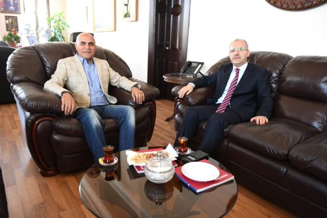 Baş Savcı İnal'dan Başkan Korkut'a Veda Ziyareti