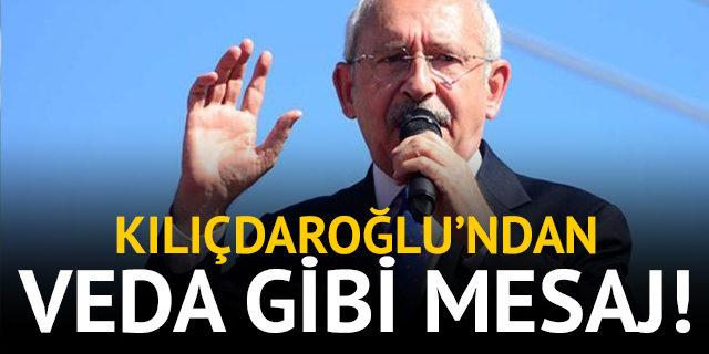 CHP lideri Kemal Kılıçdaroğlu'ndan MYK'ya teşekkür
