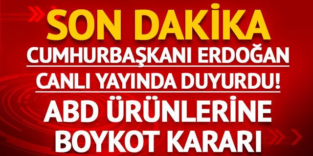 Erdoğan'dan AK Parti'nin kuruluş yıl dönümü programında açıklamalar