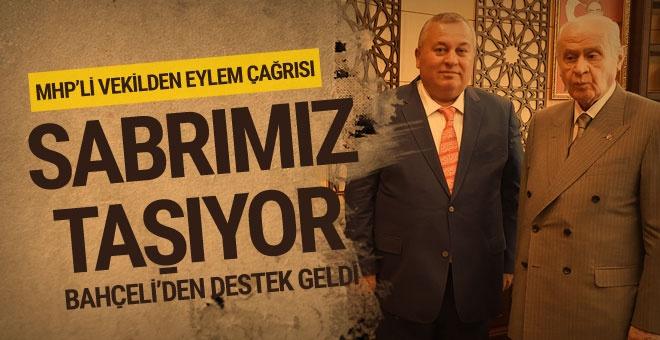 MHP'li vekil eylem çağrısı yaptı!