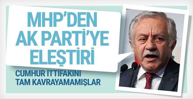 MHP'den AK Parti yöneticilerine 'ittifak' tepkisi!