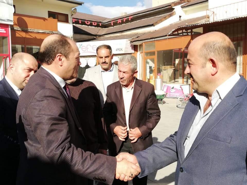 MHP Erzurum İl Teşkilatı Pasinler İlçesini ziyaret etti