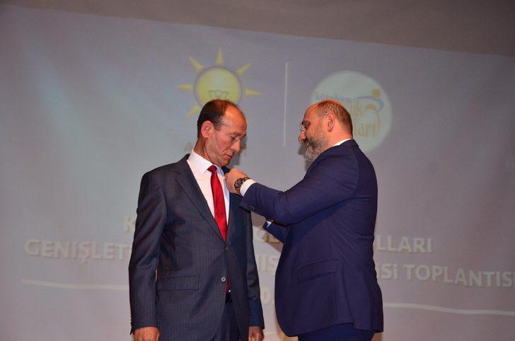 Kütahya Şaphane ilçesi Belediye Başkanı CHP'den AK Parti'ye geçti