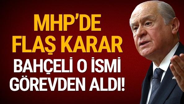 Devlet Bahçeli'den sürpriz karar: Grup Başkanvekili Erhan Usta'yı görevden aldı!