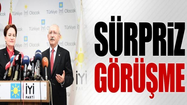 İYİ Parti ve CHP arasında sürpriz görüşme!