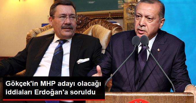 Gökçek'in MHP'den Aday Olacağı İddialarına Erdoğan'dan İlk Yorum: Benim Dava Arkadaşım