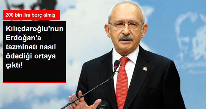 Kılıçdaroğlu'nun, Cumhurbaşkanı Erdoğan'a Tazminat Ödemek İçin Evini Sattığı Ortaya Çıktı