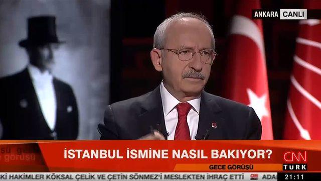 Kılıçdaroğlu'ndan dikkat çeken sözler: Adının Atatürk olması doğru değildi