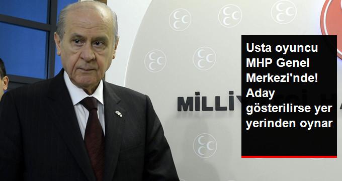 MHP'de Nuri Alço Sürprizi