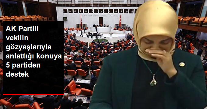 AK Partili Vekil, Yaşadıklarını Gözyaşlarıyla Anlattı