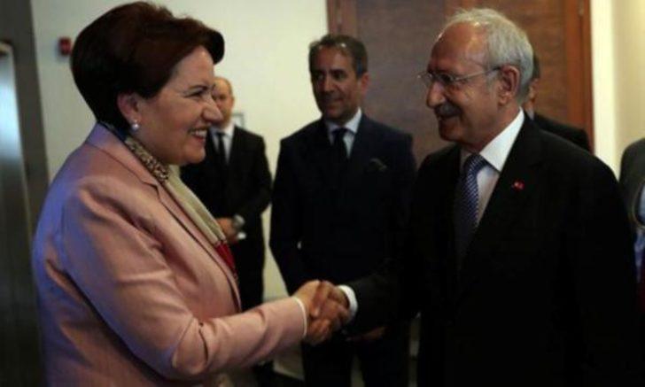 Kılıçdaroğlu-Akşener görüşmesi başladı