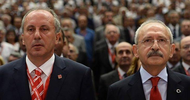 CHP'de sürpriz gelişme! Muharrem İnce, Kılıçdaroğlu'ndan randevu istedi
