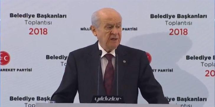Bahçeli açıkladı: MHP, yerel seçimde İstanbul, İzmir ve Ankara'da aday çıkarmayacak