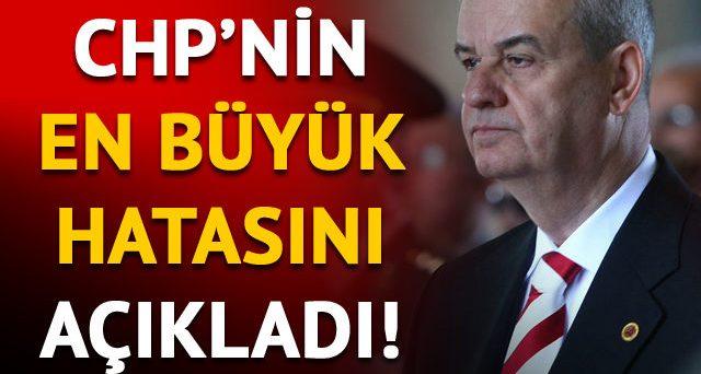 İlker Başbuğ, CHP'nin en önemli hatasını açıkladı