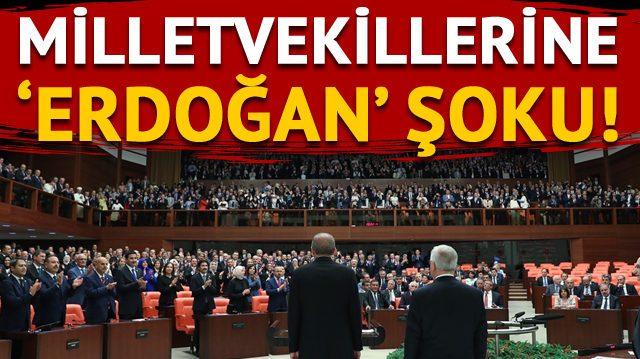 Meclis'te milletvekillerine 'Erdoğan'a hakaret' şoku!