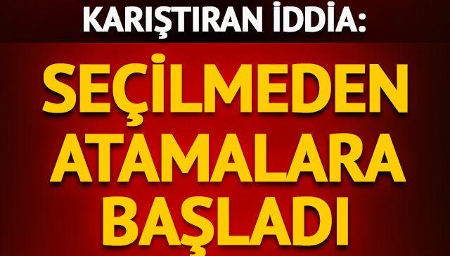 AK Parti adayı Mehmet Özhaseki belediyede atamalara başladı