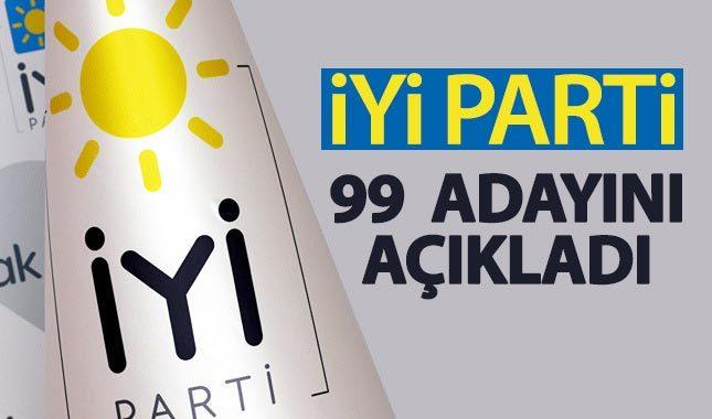 İYİ Parti, 99 belediye başkan adayını daha açıkladı