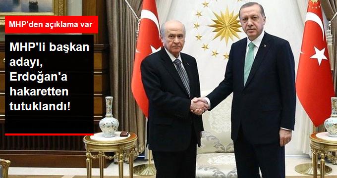 MHP'nin Zonguldak Karaman Belediye Başkan Adayı, Cumhurbaşkanına Hakaretten Tutuklandı