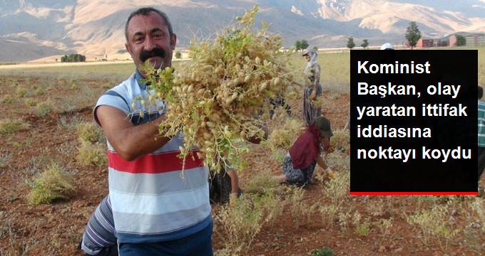 """Maçoğlu, """"HDP ile İttifak Yapacak"""" İddialarına Noktayı Koydu"""