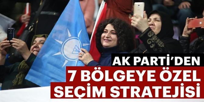 AK Parti'den 7 bölgeye özel seçim stratejisi
