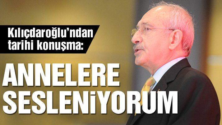 Kılıçdaroğlu'ndan tarihi konuşma