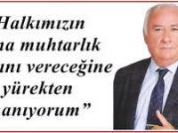 DSP'nin Ankara Büyükşehir Belediye Başkan Adayı Haydar Yılmaz