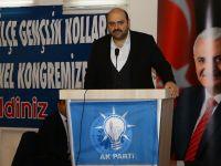 Orhan, AK Parti Aziziye Gençlik Kolları Kongresi'ne katıldı