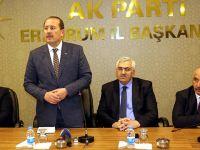 """Karacan Erzurum'da, """"Cumhurbaşkanımıza Hepimizin Borcu Var"""" Dedi"""