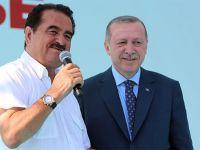 Erdoğan, seçim startını İzmir'den verdi! İbrahim Tatlıses, sahneye çıkıp şarkı söyledi
