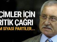 YSK Başkanı'ndan siyasi partilere flaş çağrı