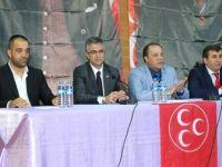 MHP İspir'de İstişare Toplantısı yaptı