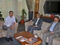 MHP Genel Başkan Yardımcısı Aydın'dan Başkan Bulutlar'a ziyaret