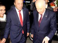 MHP Genel Başkanı Bahçeli'ye Erzurum'da Yoğun İlgi