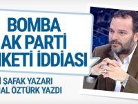 Yeni Şafak yazarından bomba AK Parti anketi iddiası sonuçlar...